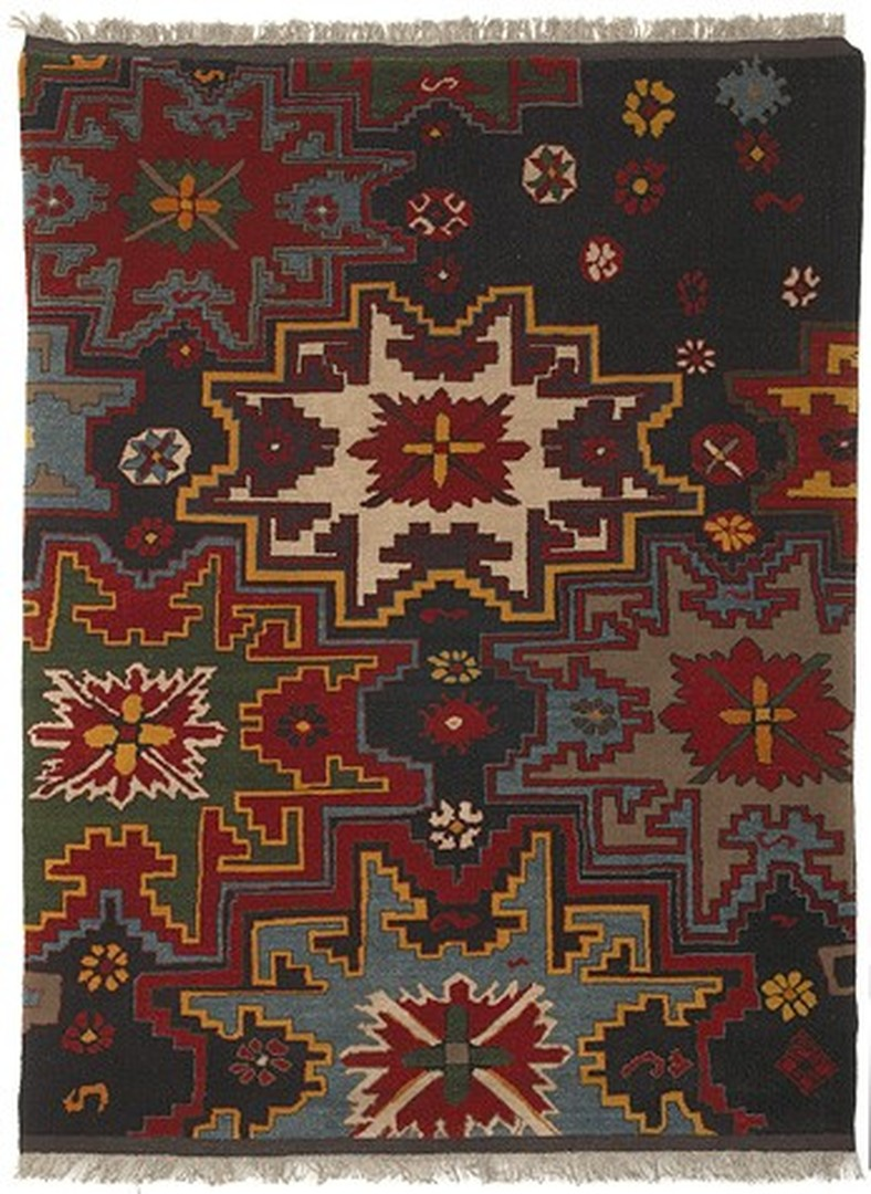 Shannon Bool  Kreuzstern Teppich